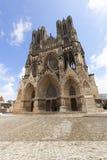 Represa de Notre da catedral, Reims Fotografia de Stock