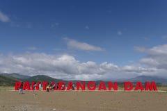 Represa de Pantabangan Fotografia de Stock