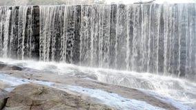 Represa de pedra velha video estoque