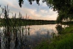 Represa 2 de Popovo fotografia de stock
