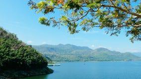 Represa de Srinagarind Imagem de Stock Royalty Free