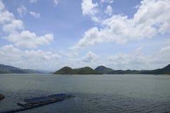 Represa de Srinakarin Fotos de Stock