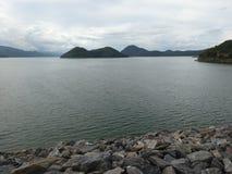 Represa de Srinakarin Imagens de Stock