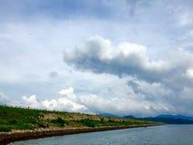 Represa de Tai Mei Tuk Imagem de Stock Royalty Free