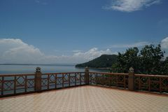 Represa de Ubonrat, Khonkaen, Tailândia Imagem de Stock Royalty Free