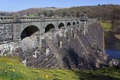 Represa de Vyrnwy do lago - Powys - Wales - Reino Unido Foto de Stock Royalty Free