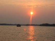 Represa de Zambezie Imagens de Stock Royalty Free
