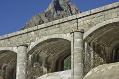 Represa do Lago di Morasco fotos de stock royalty free