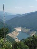 Represa e lago Fotografia de Stock Royalty Free