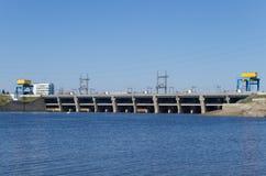 Represa hidroelétrico Foto de Stock