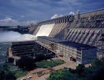 Represa hidroelétrico de Nagarjunasagar, Índia de Telangana foto de stock