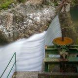 Represa hidroelétrico velha Foto de Stock Royalty Free