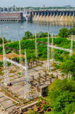 Represa Hydroelectric Imagens de Stock Royalty Free