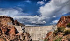 Represa o Arizona de Roosevelt fotografia de stock