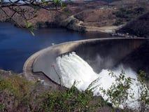 Represa Zimbabwe de Kariba fotografia de stock royalty free