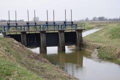 Represas da água Fotografia de Stock Royalty Free