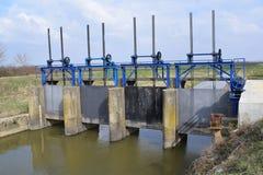 Represas da água Fotografia de Stock
