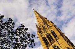 Representação artística de uma igreja em Melbourne Imagem de Stock