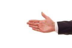 Representação da mão do negócio fotografia de stock