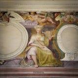 Representação da virtude da paciência Pintura fotos de stock royalty free