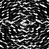 Representação de intervalo mínimo de uma grande pilha de cubos Fotografia de Stock Royalty Free