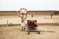 Representação do grande senhor Chimu imagens de stock royalty free