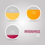 Representação gráfica dos resultados Imagem de Stock