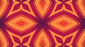 Representación abstracta 3d de formas geométricas coloreadas Animación generada por ordenador del lazo Modelo geométrico del movi libre illustration