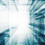 Representación abstracta de la arquitectura 3d stock de ilustración