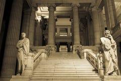 Representación alegórica de la justicia Fotografía de archivo