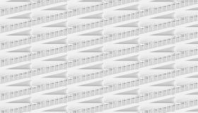 Representación arquitectónica del extracto 3d ilustración del vector