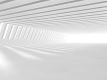 Representación blanca vacía del espacio abierto 3D Fotografía de archivo libre de regalías