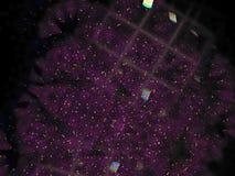 Representación creativa generada dreamlike vibrante, plantilla de la tarjeta fina del fractal abstracto del diseño ilustración del vector