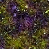 Representación cristalina inconsútil hermosa del backgound 3d