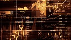 representación 3D de los índices de existencias en espacio virtual Desarrollo económico, recesión fotos de archivo libres de regalías