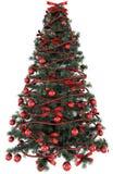 representación 3d de un árbol de navidad Imagen de archivo