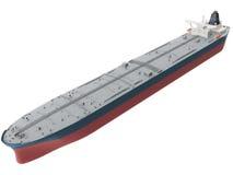 representación 3d de un buque de petróleo Imagen de archivo