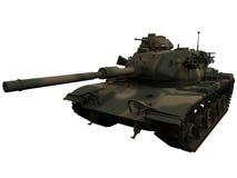 representación 3d de un M60 Patton Tank Fotos de archivo libres de regalías