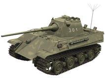 representación 3d de un tanque de la pantera Imágenes de archivo libres de regalías