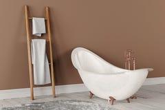 representación 3D del cuarto de baño Fotos de archivo