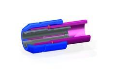 representación 3D del modelo de la tirada de collar en la sección Fotografía de archivo libre de regalías