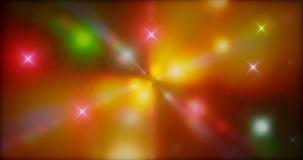 representación 3d Fondo fantástico de partículas que brillan intensamente brillantes en espacio profundo Flashes eléctricos brill libre illustration
