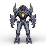 representación de 3D CG del Humanoid
