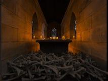 representación de 3D CG del sepulcro fotos de archivo