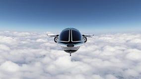 representación de 3D CG de la representación de 3D CG del vehículo espacial
