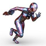 representación de 3D CG de la mujer estupenda stock de ilustración