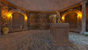 representación de 3D CG de ruinas antiguas libre illustration