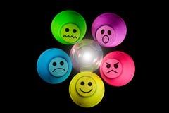 Representación de emociones Fotos de archivo