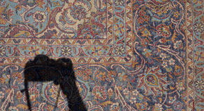 Representación de la alfombra Imagenes de archivo