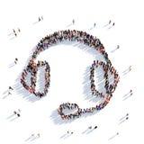 Representación de la gente 3D del consejo del consultor Libre Illustration